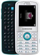Samsiung GRAVITY T459 GSM Un-locked Qwerty AQUA/WHITE