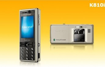 Sony Ericsson K810i Gsm Un-locked (Golden Ivory)