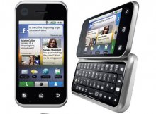 Motorola - Motorola MB300 Backflip Un-locked 3G Android Phone wi