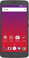 ZTE Max XL - 16 GB - Gray - Virgin Mobile - CDMA/GSM