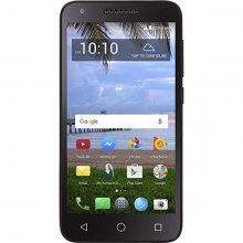 Simple Mobile - Raven A574BL with 16GB Memory Cell Phone - Black