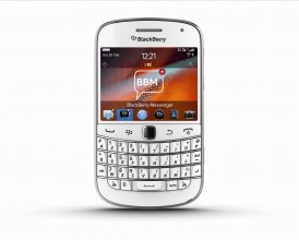Blackberry Bold 9900 Touchscreen Smartphone, 8 GB, White