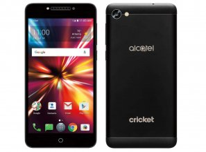 Alcatel Cricket Pulsemix Android Smartphone - 16 GB - Black