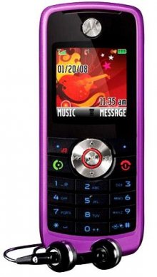 Motorola W230 GSM Un-locked No Contract Cell Phone Purple