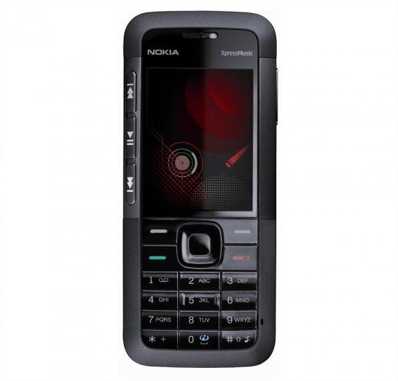 Nokia 5310 XpressMusic - Black - Unlocked - GSM