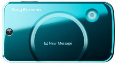 Sony Ericsson T707 Un-locked GSM No Contract Cell Phone - Blue
