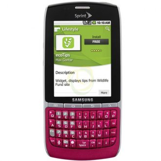 Samsung Replenish M580 (Sprint) Cdma (Pink)
