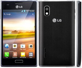 LG - Optimus L5 E610 Cell Phone (Un-locked) - Black