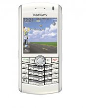BlackBerry Pearl 8100 Gsm Un-locked SmartPhone (WHITE)