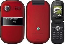 Sony Ericsson Z320A GSM Un-locked (Red)