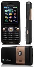 Sony Ericsson K530i GSM Un-locked GPS Phone (Black)