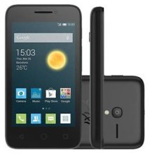 Alcatel OneTouch Pixi 3 - Black - Unlocked - GSM