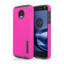 Incipio Moto Z Play Droid Dualpro in Pink / Gray - MT-388-PKGY