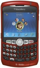 Rim BlackBerry curve 8320 GSM Un-locked (red)
