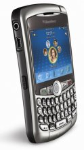 Rim BlackBerry curve 8320 GSM Un-locked Titanium