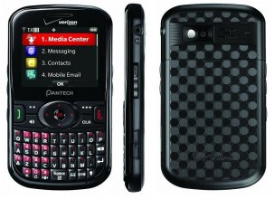 Pantech Caper - Black (Verizon) Cellular Phone