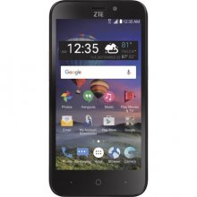 ZTE Z Five 2 LTE - 8 GB - Black - Straight Talk