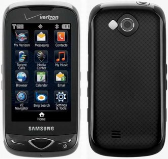 Samsung U820 Reality CDMA Black Verizon (BLACK)