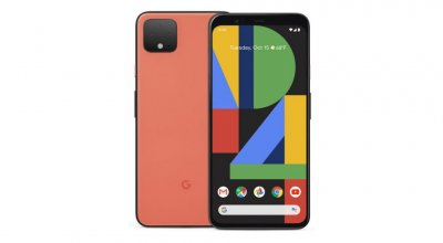 Google - Pixel 4 XL with 64GB Cell Phone (Unlocked) - Oh So Oran