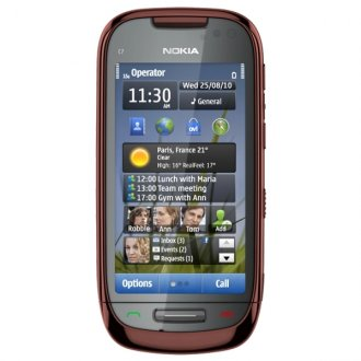 Nokia C7 Touch Screen 8MP Un-locked GSM (BROWN) C7-00
