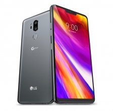 LG - G7 ThinQ with 64GB Memory Cell Phone - Platinum Gray (Veriz