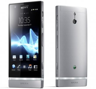 Sony Xperia P LT22i Smart Phone - GSM Un-locked (Silver)