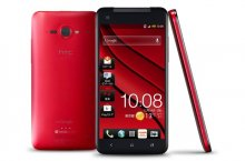 HTC Butterfly X920 (Factory Un-locked) Quad-core 1.5GHz RED