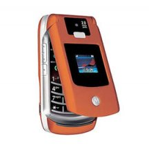 Motorola V3X Gsm Un-locked World No Contract Cell Phone (ORANGE