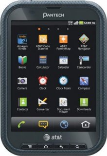 Pantech Pocket 4G Mobile Phone - Black P9060