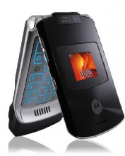Motorola V3xx Black Phone Un-locked