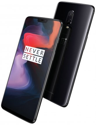 OnePlus 6 - 64 GB - Mirror Black - Unlocked - CDMA/GSM