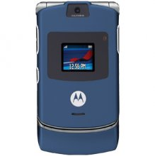 Motorola V3 RAZR No Contract Cell Phone GSM Un-locked (blue)