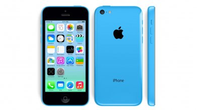 Apple iPhone 5c (GSM Un-locked) - Blue 16 GB