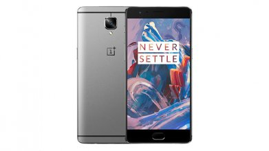 One Plus 3T A3000 128GB Dual SIM Black Gunmetal