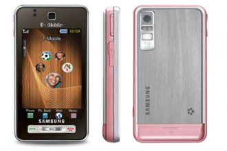 T-Mobile Samsung T919 Behold Espresso No Contract Cell Phone for