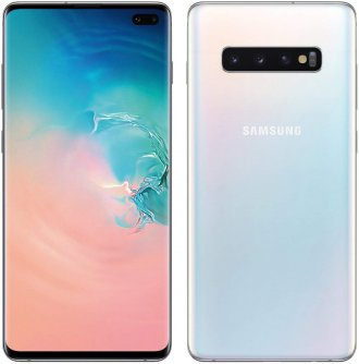 Samsung Galaxy S10+ (Unlocked) - 128 GB - White Prism - Unlocked
