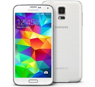 Samsung Galaxy S5 SM-G900A Android Phone 16 GB - Shimmery White