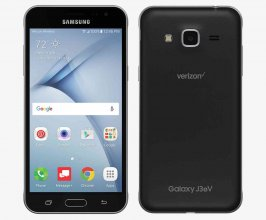 Samsung Galaxy J3 V - 16 GB - Black - Verizon - CDMA/GSM