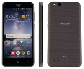 ZTE Blade Vantage - 16 GB - Black - Verizon - GSM