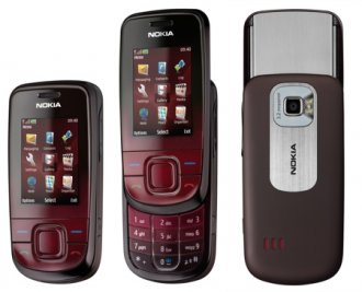 Nokia 3600 Slide GSM Un-locked (Red)