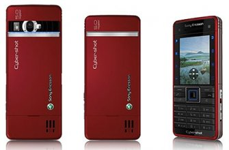 Sony Ericsson C902 Gsm Un-locked (red)