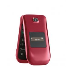 Consumer Cellular 101 Flip Phone - Red