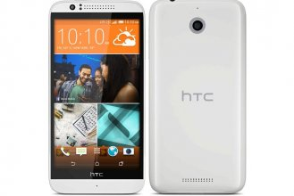 Boost Mobile - HTC Desire 510 4G No-contract Cell Phone - White