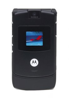 Motorola V3 RAZR No Contract Cell Phone GSM AT&T (black)