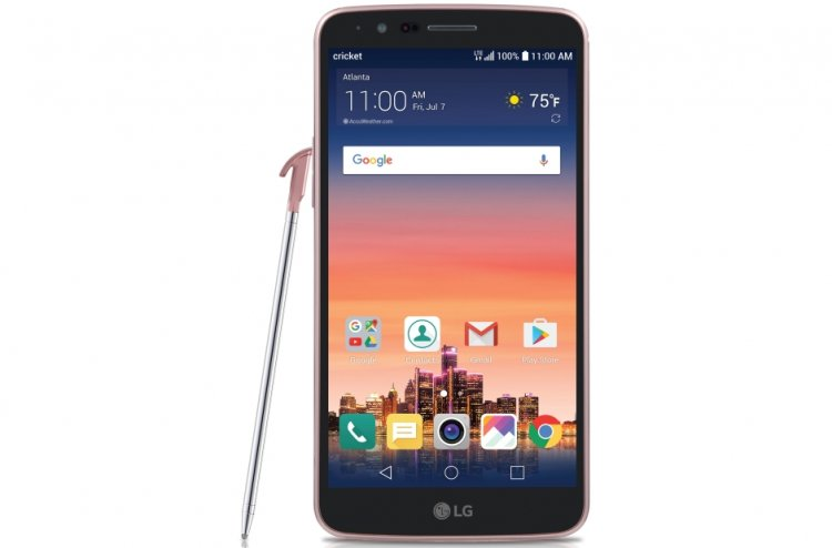 LG Stylo 3 - 16 GB - Metallic Titan - Boost Mobile - CDMA