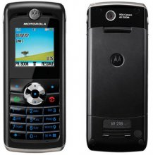 Motorola W218 Gsm Un-locked BLACK