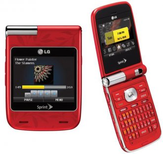 LG Lotus Elite LX610 Cdma Sprint (Red)