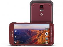 Samsung Galaxy S5 Active - 16 GB - Ruby Red - AT&T - GSM