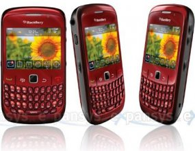 BlackBerry 8520 Curve Gsm Un-locked (PURPLE)