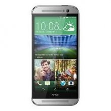 HTC One (M8) Android Phone 32 GB Glacial silver Un-locked - GSM